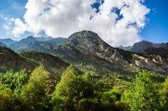 Posets-Maladeta Natural Park - Benasque Valley Royalty Free Stock Image