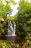 Posforth Gill. Waterfall in the Yorkshire dales, united kingdom Stock Photo