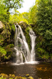 Posforth Gill. Waterfall in the Yorkshire dales, united kingdom Royalty Free Stock Photography