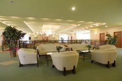 Posh furnished lobby Royalty Free Stock Image
