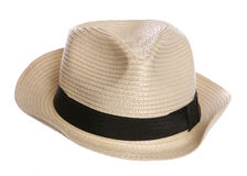 Posh old mans hat Royalty Free Stock Photos