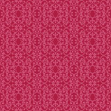 Posh Pattern in Red. Fashionable seamless pattern with a vintage style in red and pink Stock Images