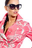 Posh woman Royalty Free Stock Photography