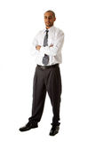 Posição considerável do homem de negócio Imagem de Stock