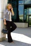 Posição da mulher Foto de Stock