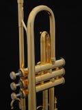 Posição da trombeta do ouro Imagem de Stock