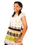 Posição do adolescente do americano africano Fotografia de Stock