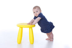 posição do bebê Imagem de Stock Royalty Free