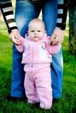 Posição do bebê Imagens de Stock