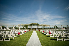 Posição do casamento Foto de Stock Royalty Free