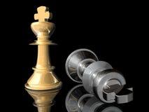 Posição do Check-mate ilustração royalty free