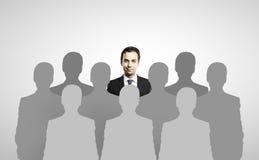 Posição do homem de negócios Imagens de Stock