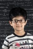 Posição do menino de escola Fotografia de Stock