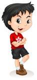 Posição do menino de Hong Kong Foto de Stock