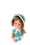 Posição feliz da boneca da menina Imagens de Stock