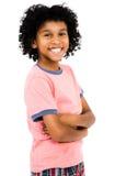 Posição feliz do menino Imagem de Stock