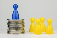 Posição financeira conceptual Fotos de Stock Royalty Free