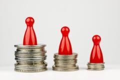 Posição financeira conceptual Foto de Stock