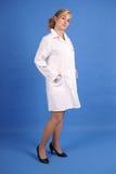 Posição médica do profissional Fotografia de Stock Royalty Free