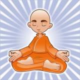 Posições da ioga ilustração royalty free