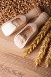Posiłek i mąka obraz stock