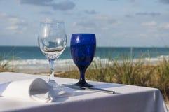 Posiłek na plaży Zdjęcie Stock