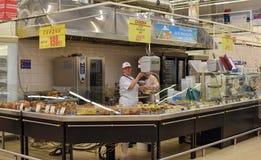 posiłek przygotowywający supermarket obraz royalty free