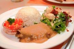 posiłek wołowiny pieczeń zdjęcie stock
