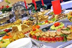 Posiłek w luxery hotelu Zdjęcia Royalty Free
