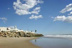 posiadłość na plaży Zdjęcie Royalty Free