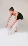 Posición de ballet 800 Imagenes de archivo