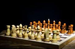 Posición del ajedrez Imágenes de archivo libres de regalías