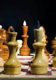 Posición del ajedrez Fotos de archivo