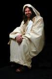 posiedzenie jezusa Zdjęcia Stock