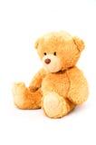 posiedzenie niedźwiedzi zabawka Zdjęcia Royalty Free