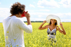 Posing Royalty Free Stock Photography