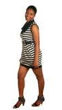 Posing african girl Royalty Free Stock Photos