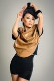 Posing asian woman Royalty Free Stock Photos