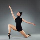 Posing ballet dancer Royalty Free Stock Photography
