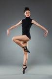 Posing ballet dancer Royalty Free Stock Photos