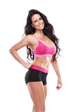 Posing beautiful fitness sexy woman Stock Photo