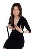 Posing of beautiful young woman Royalty Free Stock Photo