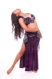 Posing belly dancer Royalty Free Stock Photo