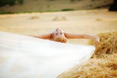 Posing bride Royalty Free Stock Photo