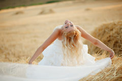 Posing bride Stock Photography