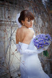 Posing bride Royalty Free Stock Image