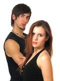 Posing couple Royalty Free Stock Photos