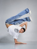Posing dancer Stock Photography