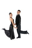 Posing- dancing modern Stock Photo