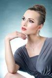 Posing Elegant Woman Royalty Free Stock Photos